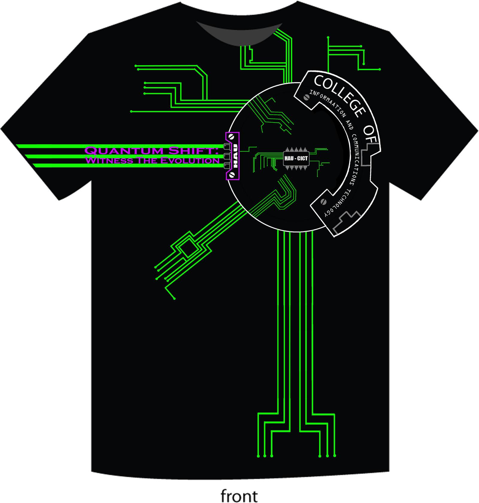 Shirt design green -  Cict T Shirt Design Front By Seventeenth Tragedy