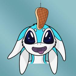 Nezun is hungry  (Fan Art) by tikitree2