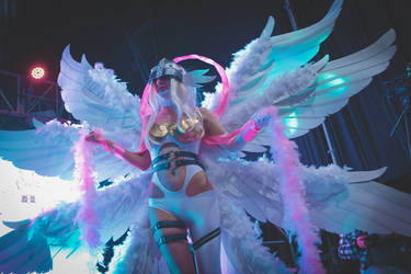 Angewomon cosplay by litha-the-black-cat
