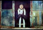 Pilot's wife. Prayer. by NataliaCiobanu