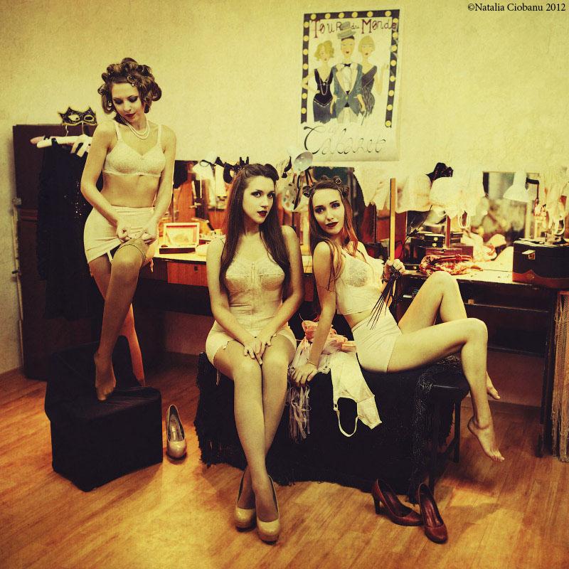 Le Cabaret. Preparing. by NataliaCiobanu
