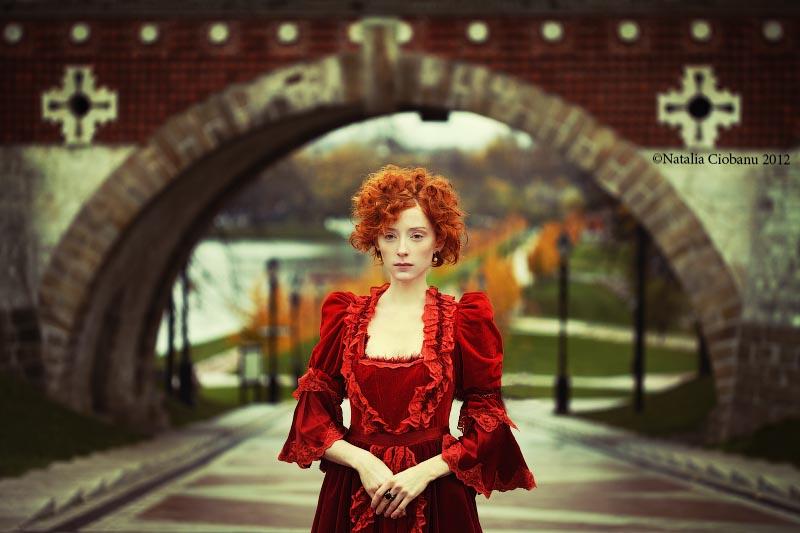 Portrait in autumn by NataliaCiobanu