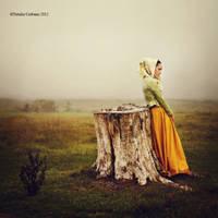 Alone in autumn by NataliaCiobanu