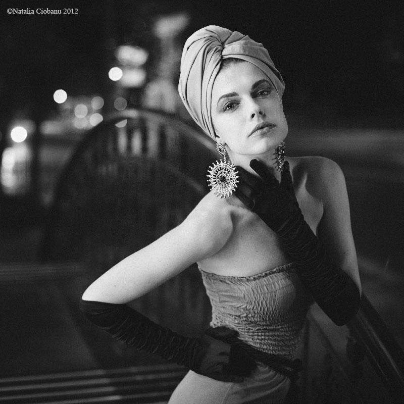 Bohdana in night by NataliaCiobanu