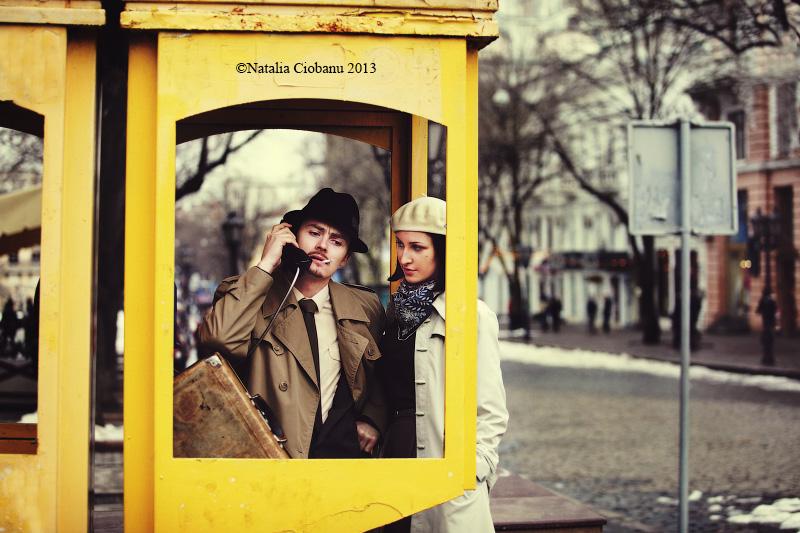 Bonnie and Clyde by NataliaCiobanu