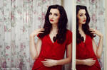 Lady in red 2
