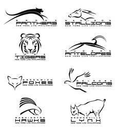 New York Life Animal Logos III by vrikolakas