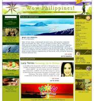 Department of Tourism Web 2001 by vrikolakas
