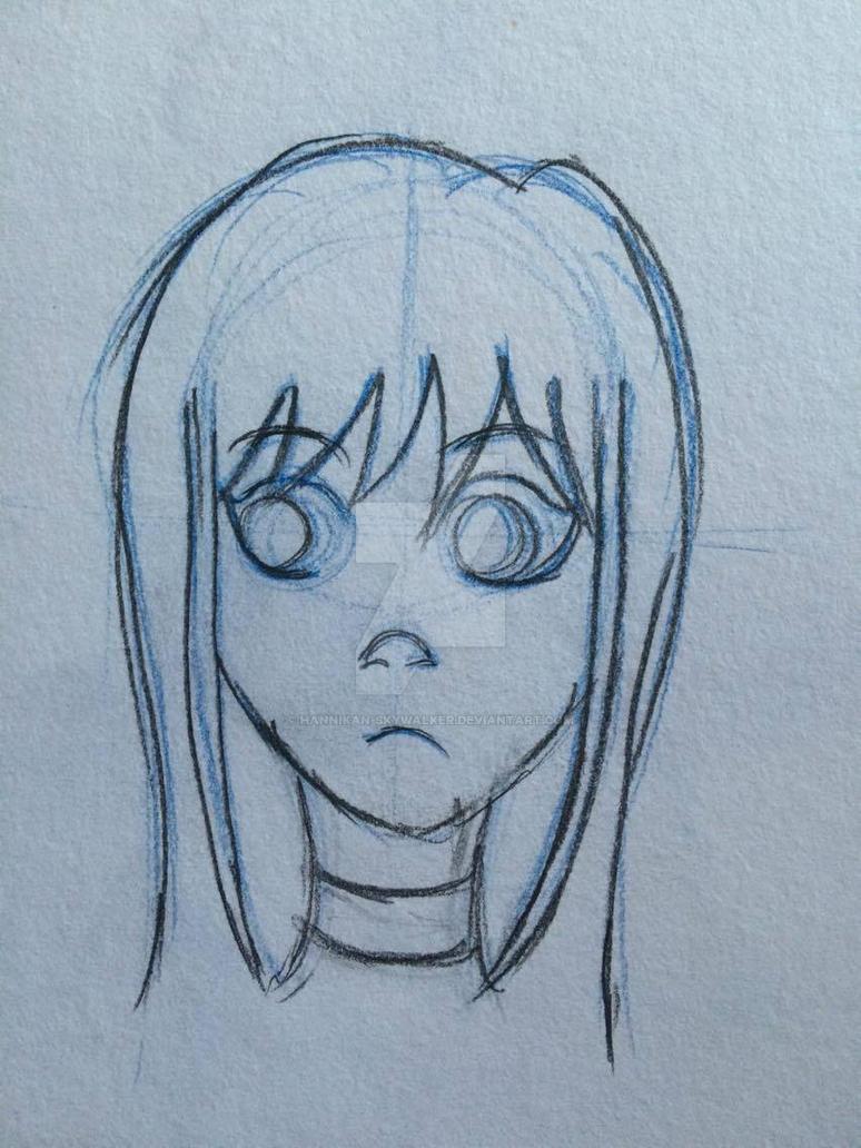 Sketch: Annika Headshot by Hannikan-Skywalker