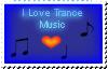 DA Stamp: I Love Trance Music by Trance-Fans