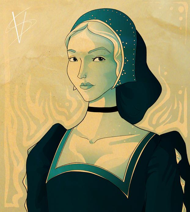Jane Boleyn by savivi