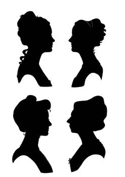 Roommate Silhouettes