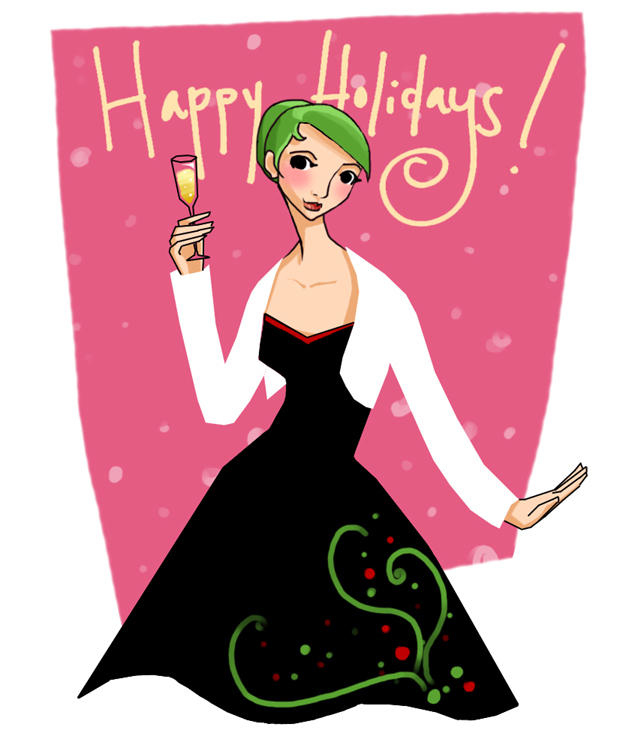 Happy Holidays by savivi