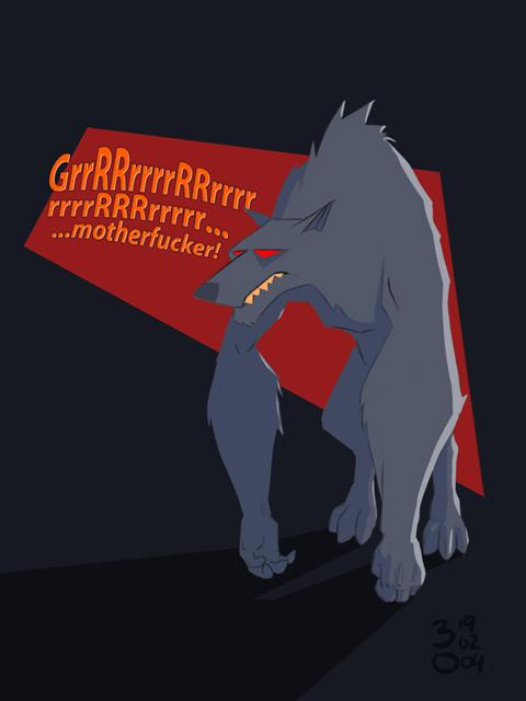 Werewolf Surprise by GavraNxyz