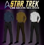 USS Kelvin uniforms