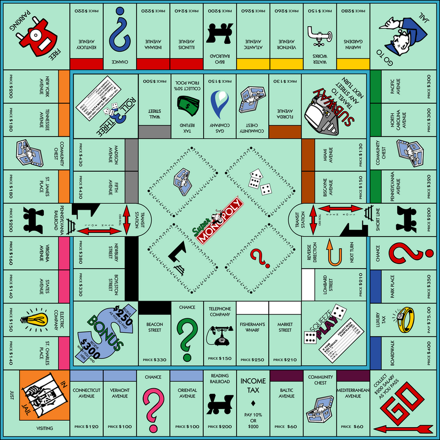 Gallery images and information: Monopoly Community Chest Cards List