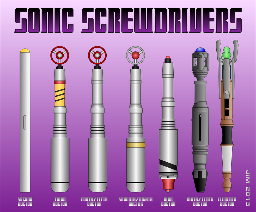 Sonic Screwdriv... Doctor Who 1st Doctor Sonic Screwdriver