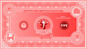 Monopoly Banknote $5