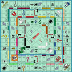 Hi Res Ultimate Monopoly Board