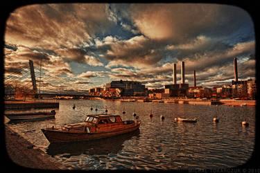 The Ruoholahti canal by MichalTokarczuk