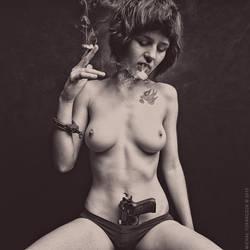 daughter of the gun by MichalTokarczuk