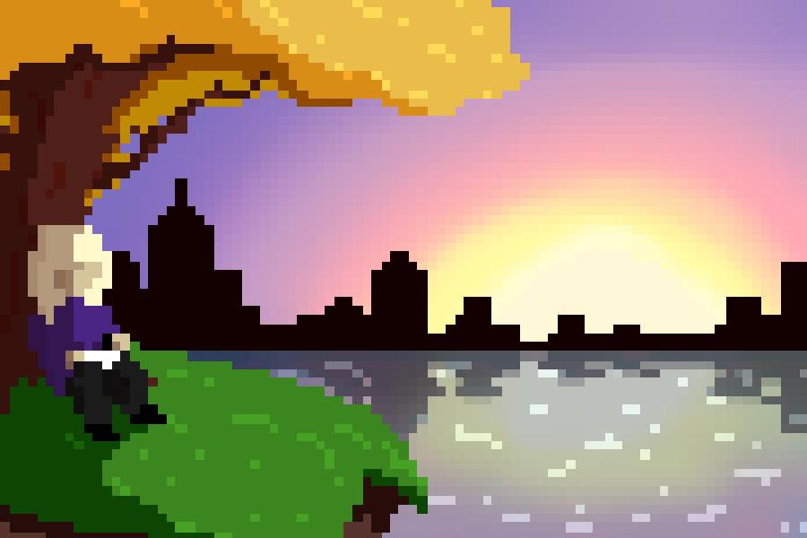 Sunset by 0oliilo0