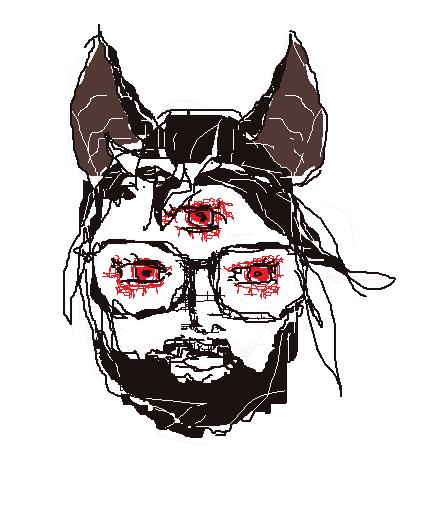 Ghastly Bat by YouMadeMyFeelingsCry