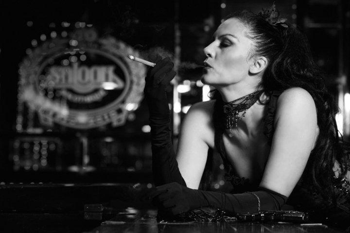 Saloon lady by LadyOfTheShadow