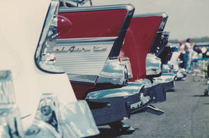 row of Chevys by iconkid