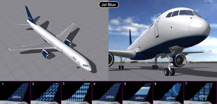 Boeing 757 Jet Blue