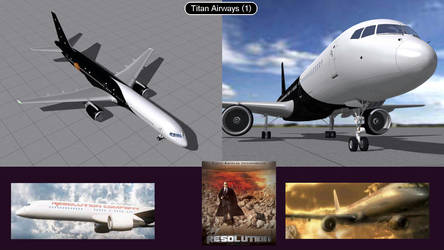 Boeing 757 Titan Airlines 1  by iconkid