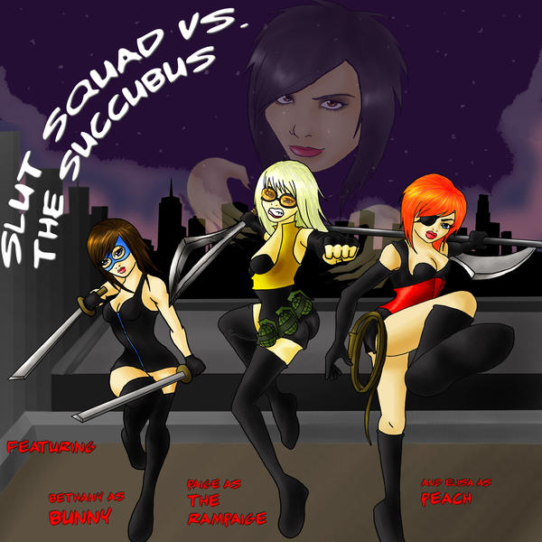 Slut squad cartoon