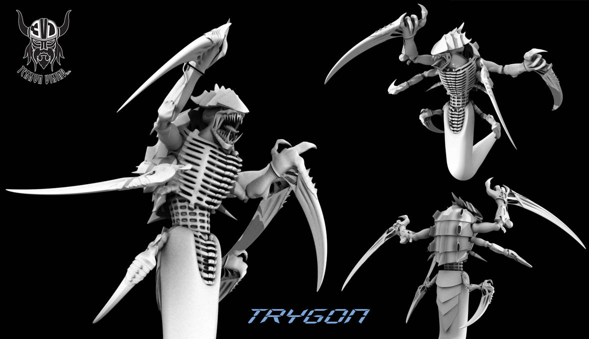 Trygon, The Tyranid Titan by TerronViking on DeviantArt