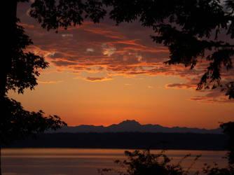 Sunset by khog
