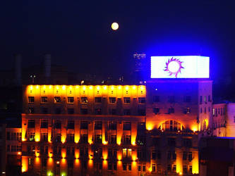 Moon over Moscow by khog