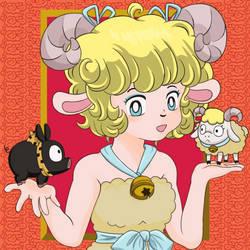 Sheep OC (Ranma 1/2 Style)
