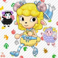 Sheep OC (Animal Crossing Style)
