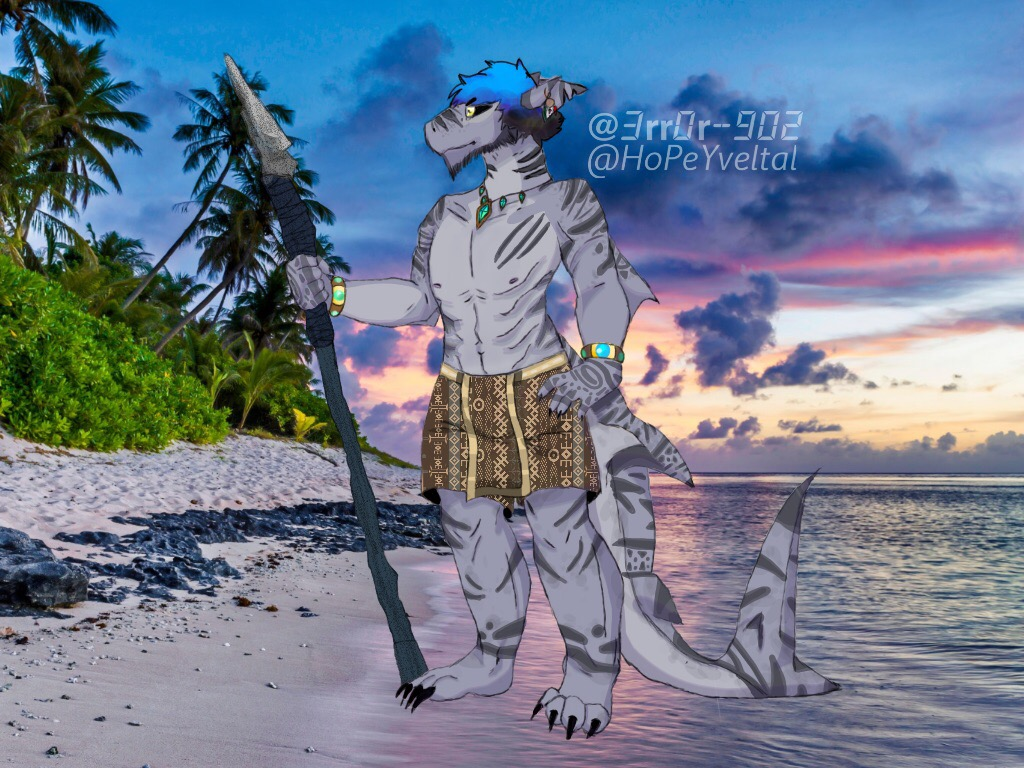 Tribal Shark Collab by HoPeYveltal
