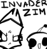 INVADER ZIM icon by Celebi9