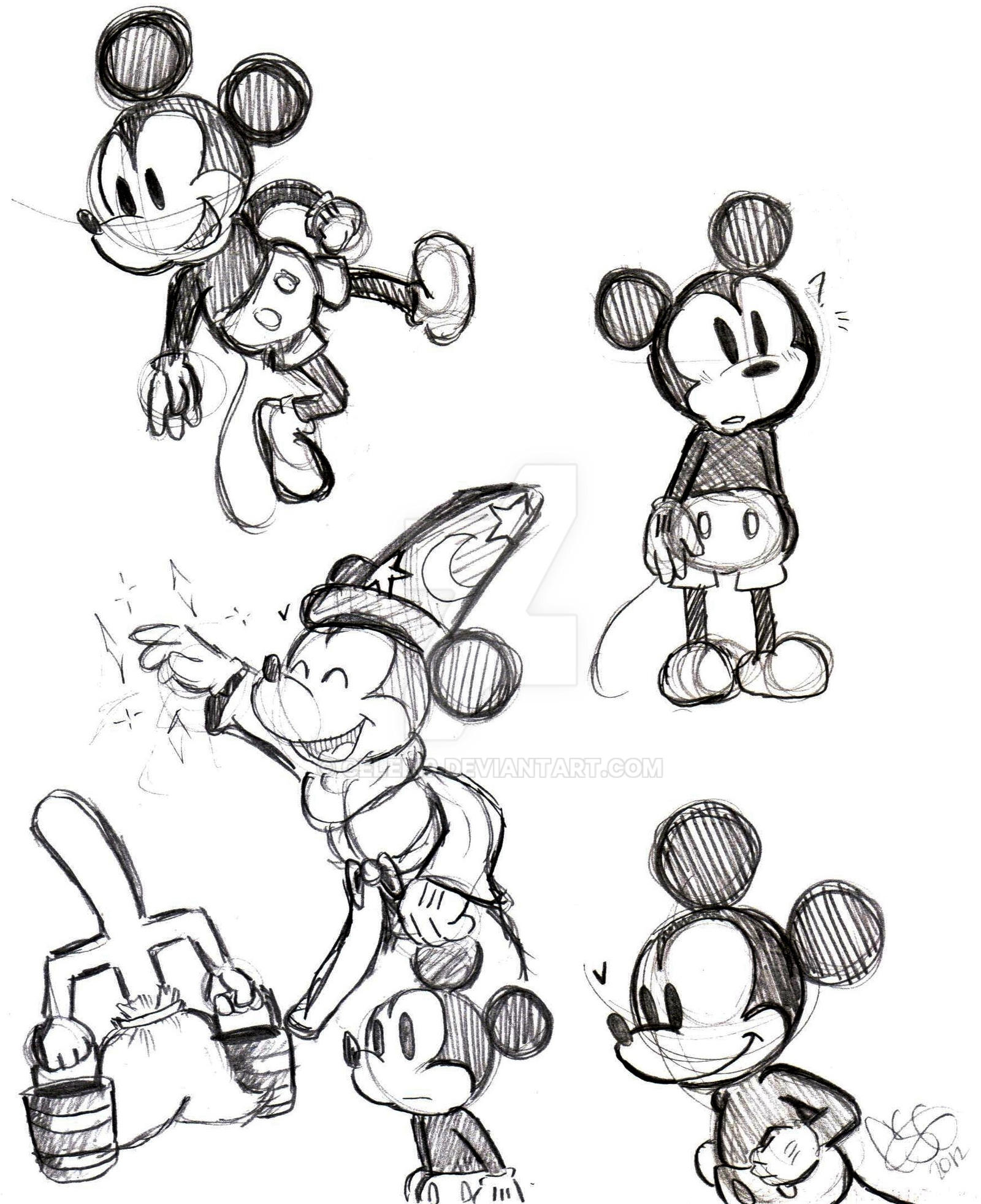 Uncategorized Mickey Drawings mickey drawings by celebi9 on deviantart celebi9