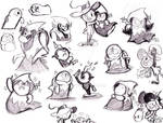 Lord Bloo Hater Sketches