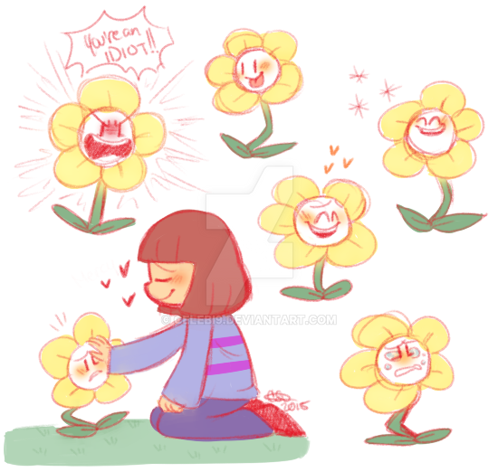 undertale_flowey_sketches_10_23_15_by_ce
