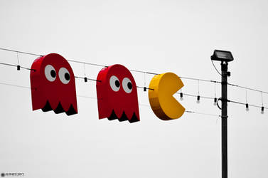 Pac Man and Co by Attila-Le-Ain