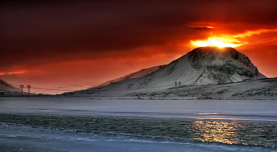 ICELAND - The volcano