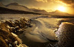 Iceland gold space