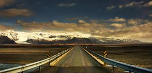 Iceland - this way of glacier