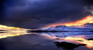 ICELAND - lighting on