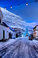 Iceland - Seydisfiordur by PatiMakowska