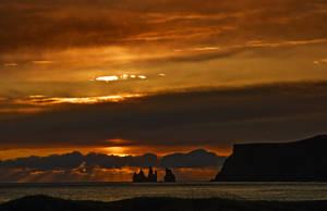Iceland - winter sunshine by PatiMakowska