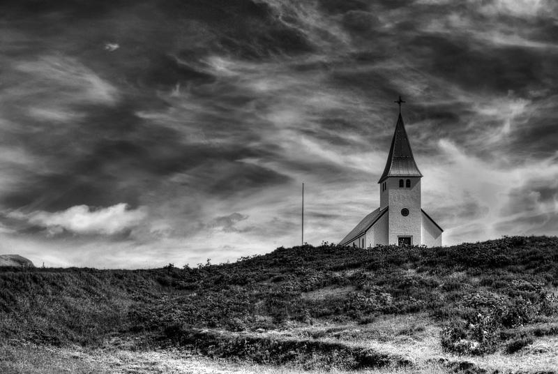 Iceland Vik - Kirkjan by PatiMakowska